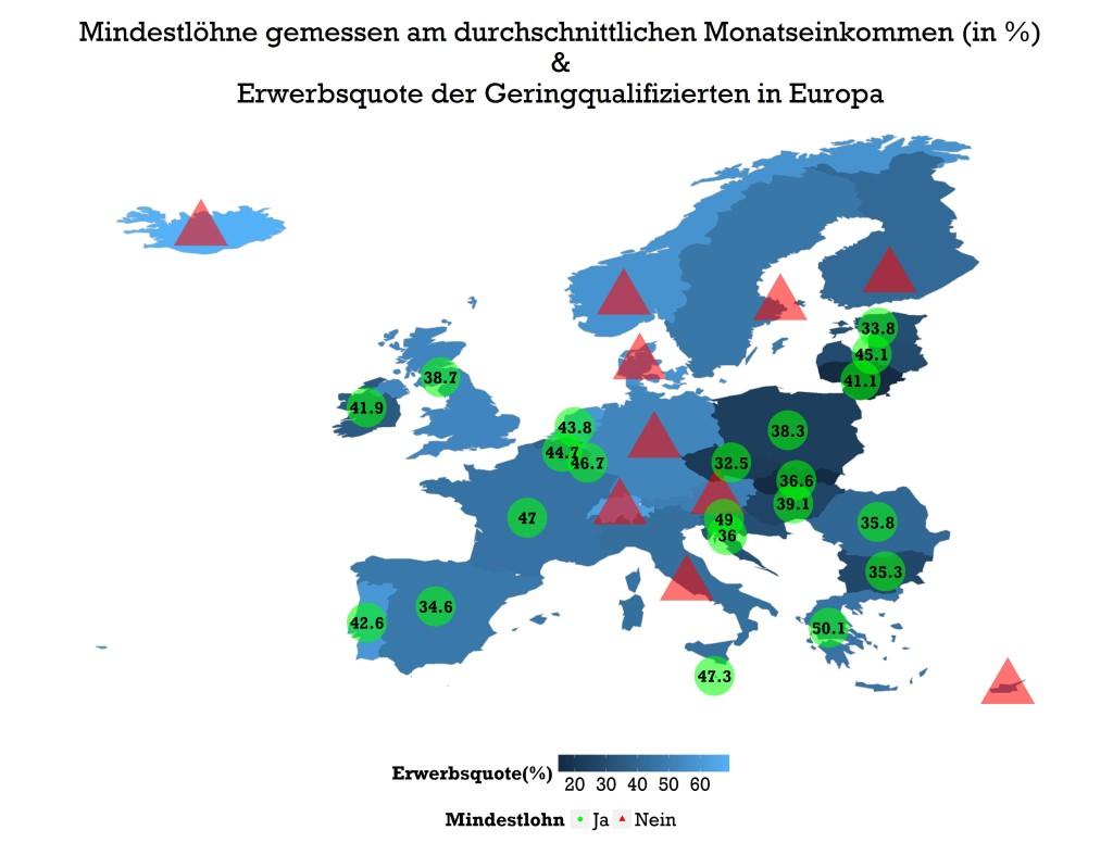 Europe Minimumwage